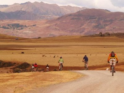 Biking in the sacred valley, Cusco